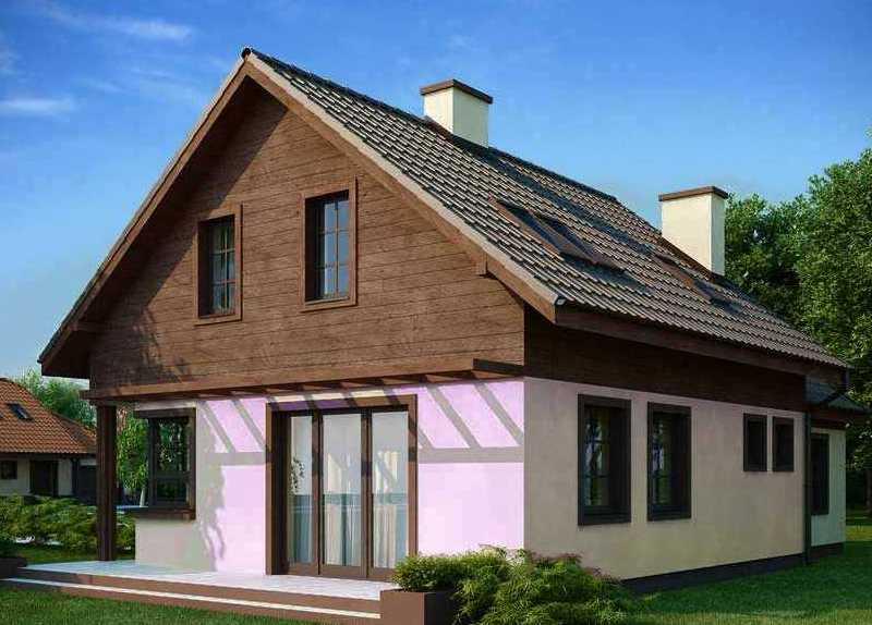 готоготовый каркасный дом