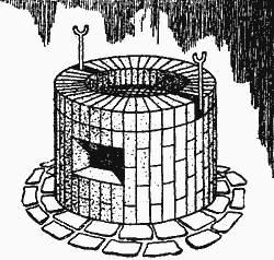 Садовый камин - Малые архитектурные формы - Ландшафт - Каталог статей - Персональный сайт